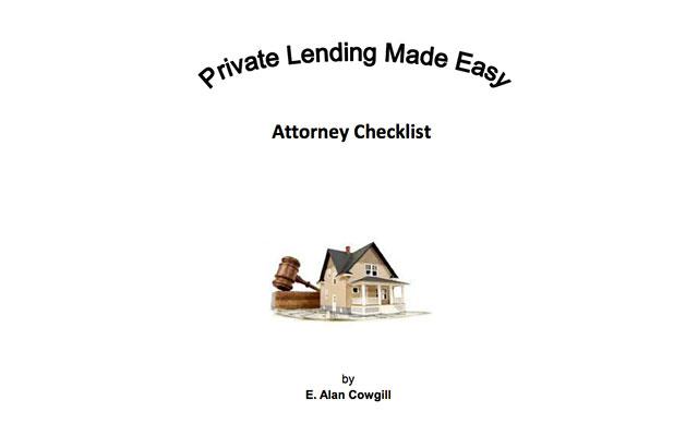 Attorney Checklist