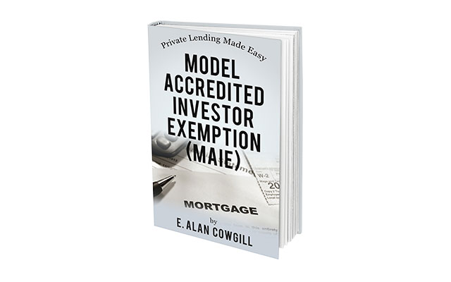 Model Accredited Investor Exemption (MAIE)
