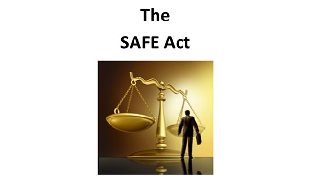 The SAFE Act